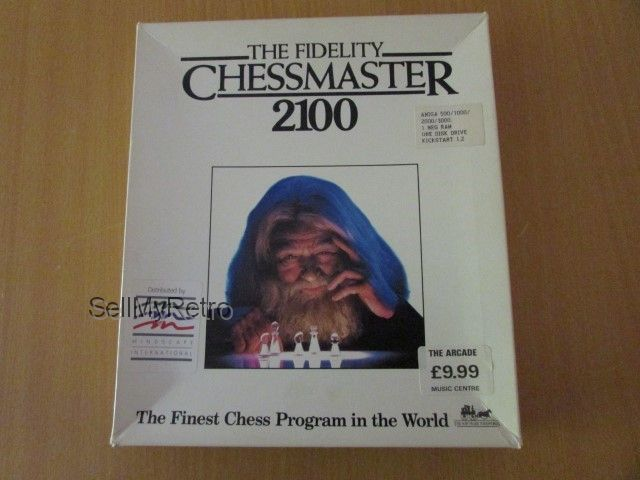 Commodore Amiga Game The Fidelity Chessmaster 2100 By Mindscape