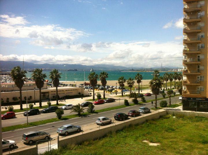 Playa del Poniente en La Línea de la Concepción, Andalucía