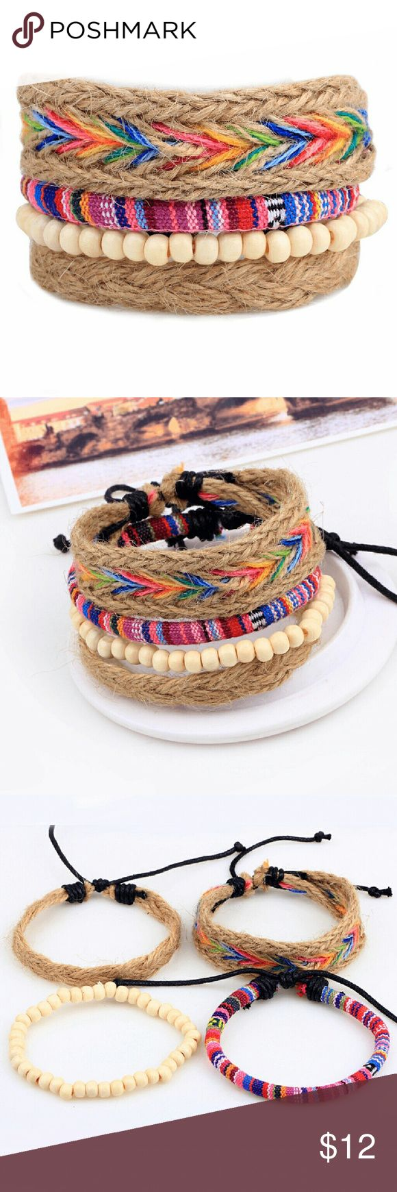 Fashion Jewelry Bracelets Nepal Bracelet Beaded Braid Hemp Cord  Feature: Nepal, yunnan, seven colors, beads  Specifications: 7?-8?  Material: Hemp braid cord, wood beads, wax cord  Item weight: 1oz  Makes a great gift for friend and family or self purchase  Birthday gift, Valentine's gift and etc Jewelry Bracelets