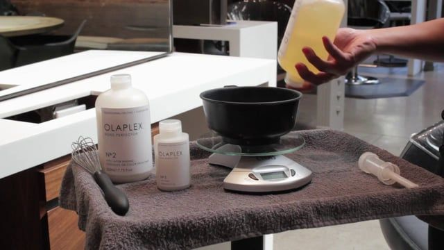 Celebrity colorist Tracey Cunningham describes Olaplex Hair Product