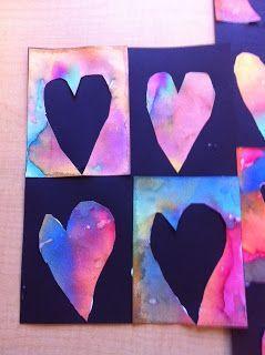 Art with Mrs. Narens: Kindergarten & 1st Grade Art: February 2013. Elementary art lesson.