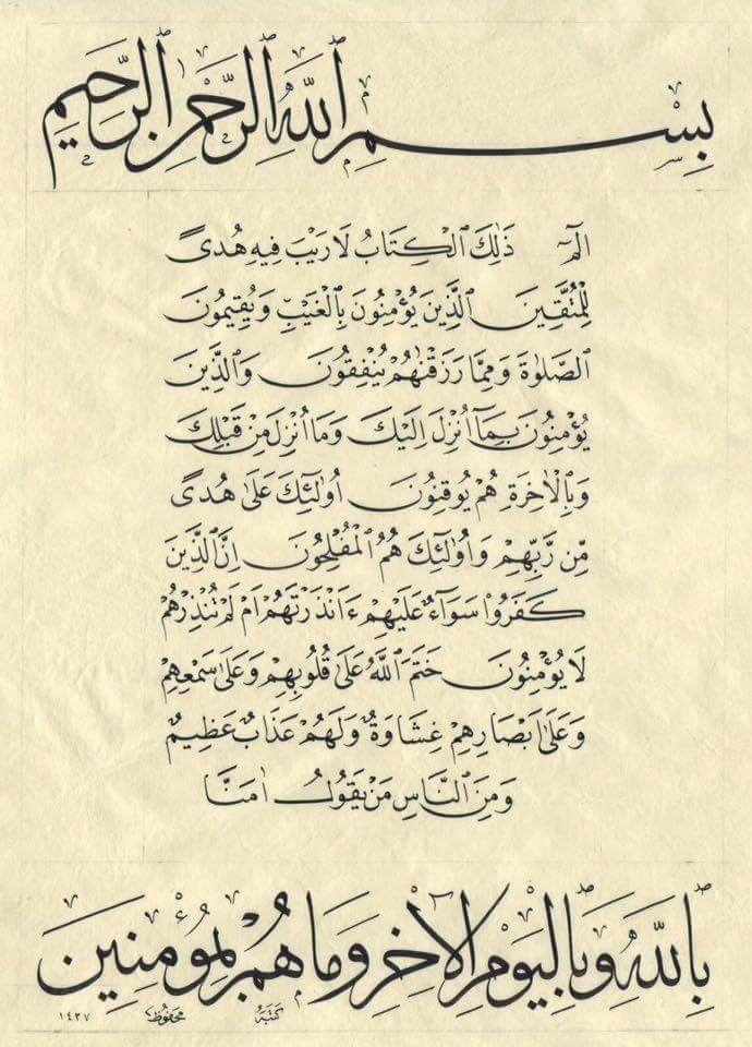 ألم, abdullah bulum tarafından Sanat, Hat sanatı