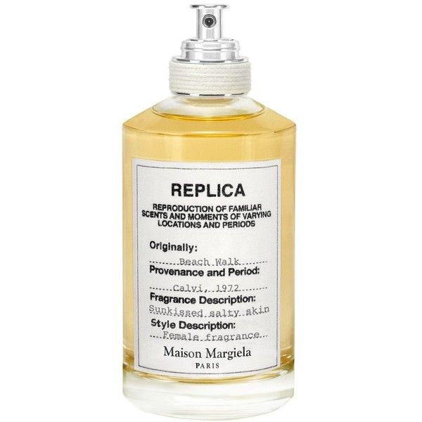 Women's Maison Margiela Replica Beach Walk Fragrance (1 095 SEK) ❤ liked on Polyvore featuring beauty products, fragrance, no color, maison margiela perfume, maison margiela and maison margiela fragrance