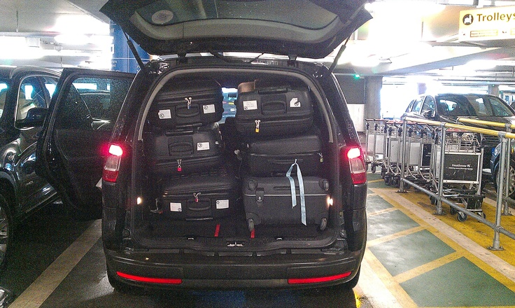 Ford Galaxy luggage capacity with 4 passengers | Maryland ...