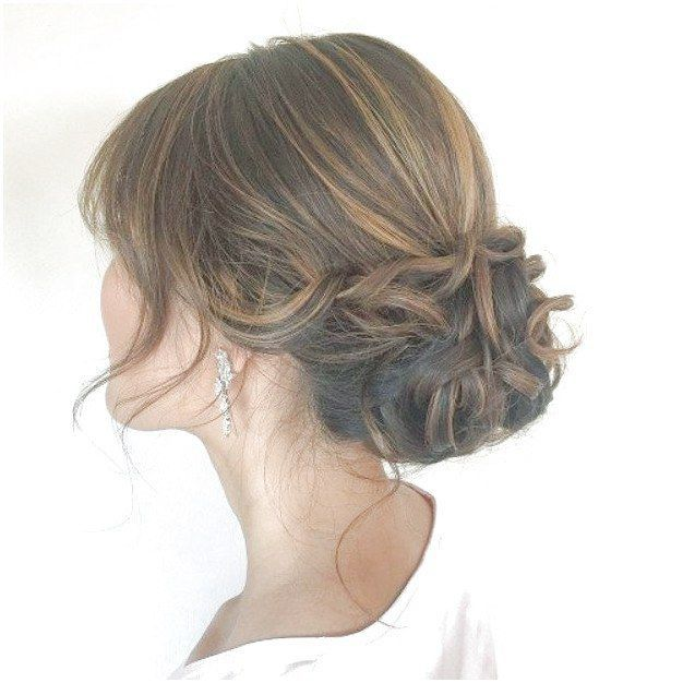 Quick and Easy Updo Hairstyles – Updo with Fringe Bangs – Hair Hacks And Popular Haircuts For The Lazy Girl. Hairdos and Up Dos Including The Half Up