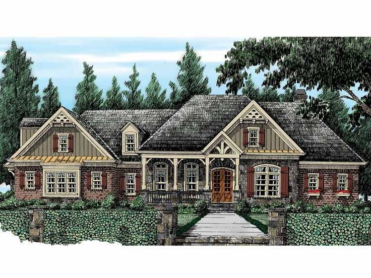 Best 25+ French Country House Plans Ideas On Pinterest | House Plans, House  Blueprints And 4 Bedroom House Plans