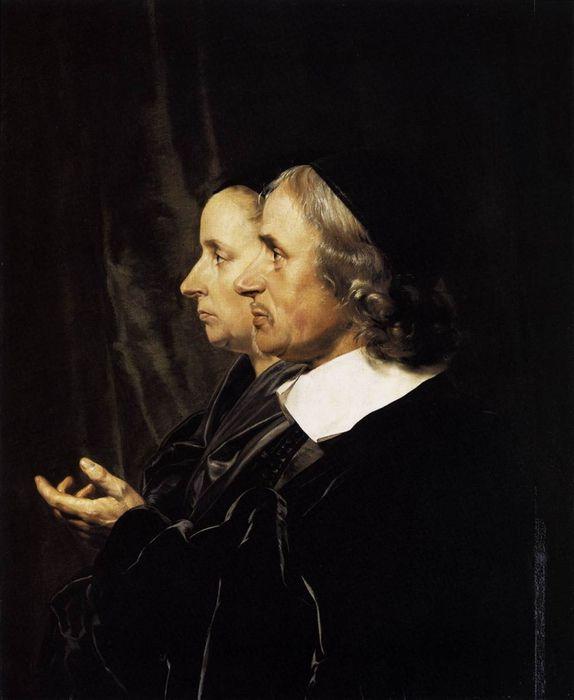 Ян де Брай. Salomon de Bray & Anna Westerbaen 1664