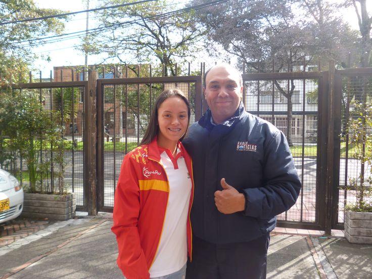 Paula Aguirre, campeona mundial de natación con aletas.