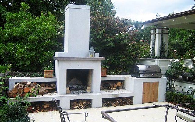 Handmade outdoor fireplaces by Alfresco Fires; Bespoke Alfresco BBQ