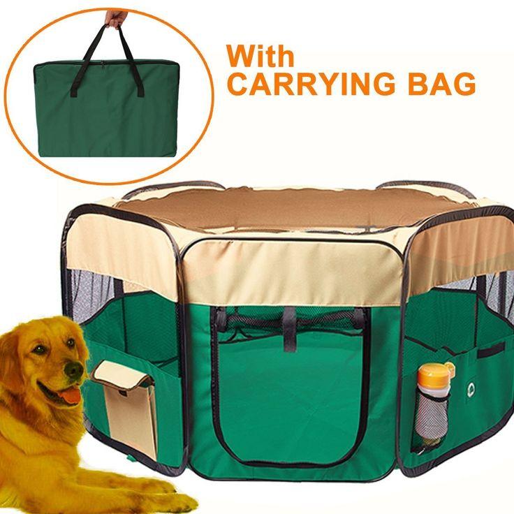 Portable Octagon 46.5u0027(D) X 30u0027(H) 600D Dog Cat