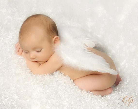 THE ORIGINAL: Boys 'Bebe Angel' Wings Baby Photo Prop on Etsy, $16.95