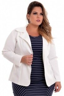 Blazer Plus Size Neo Off