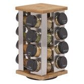 Found it at Wayfair - 16 Jar Stainless Steel Revolving Spice Rack