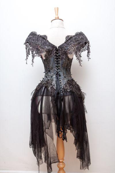Gothic Princess corset by Karolina Laskowska