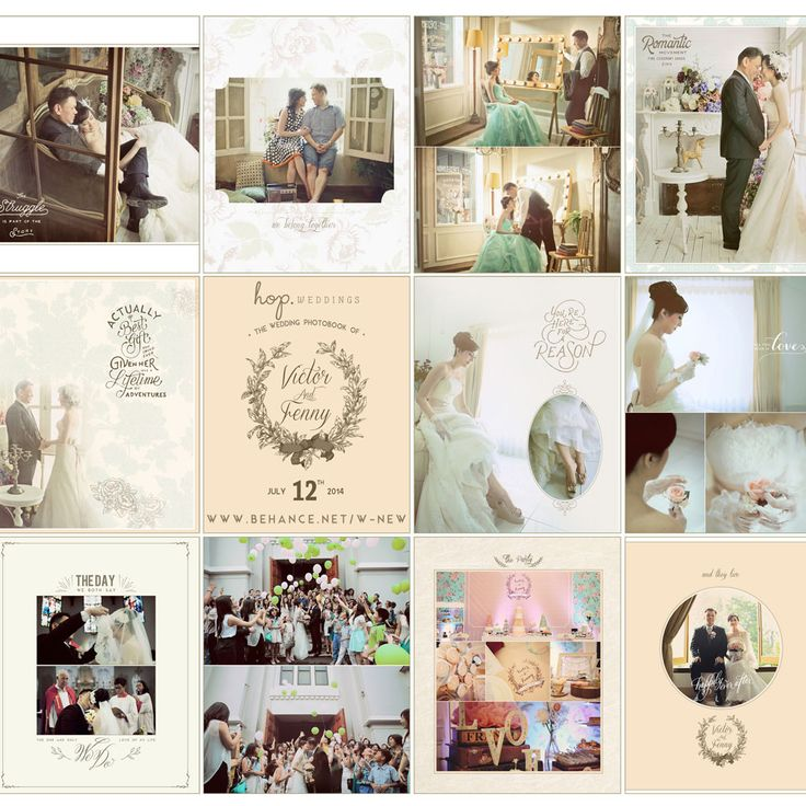 Victor & Fenny Wedding Photobook, book design & photo editing by Wenny Lee, photo by HOP