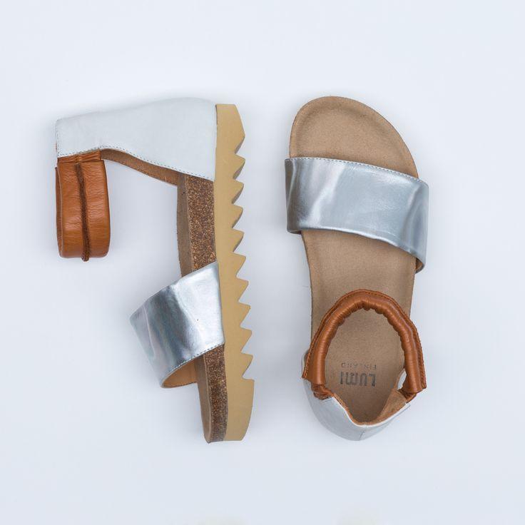 Birgitta Cork Sandal | Lumi Accessories  www.shoplumi.com