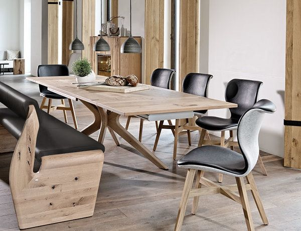 Simplicity Paired With Expression And Character Esszimmertisch Holz Stuhl Design Holzstuhle