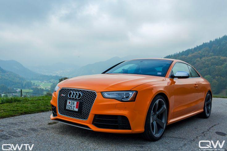 Solar Orange Rs5 Audi A5 Audihuntvalley Cars