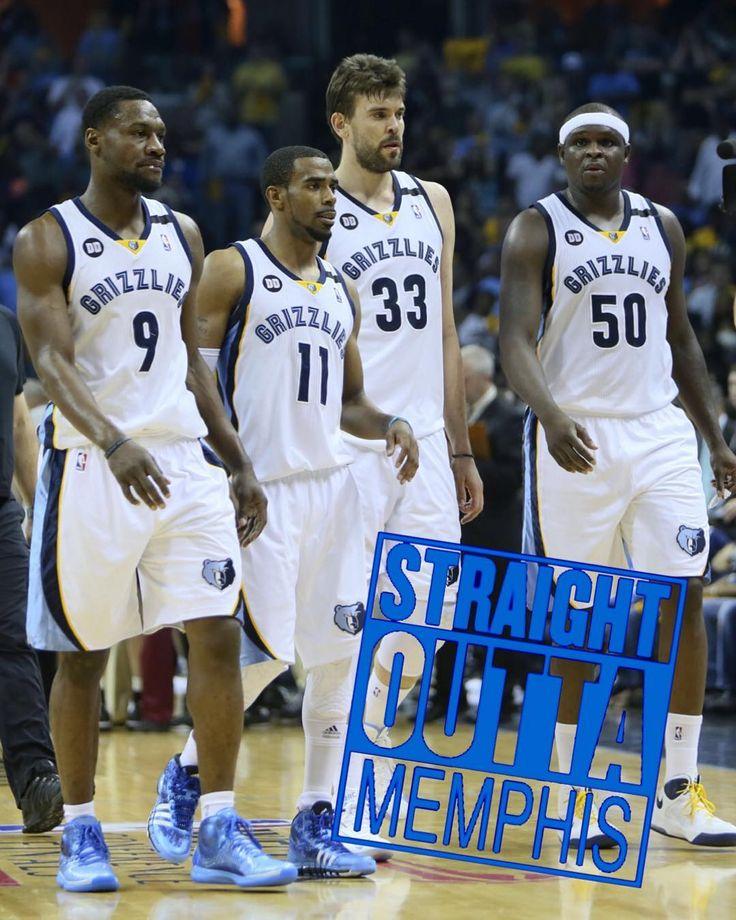 @memgrizz #StraightOuttaMemphis  our core four... tony allen, mike conley, marc gasol, and Zach Randolph... love.