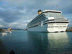 Savona, Puerto, Italia, Crucero, Mar