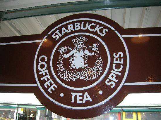 Original Starbucks location in Seattle.