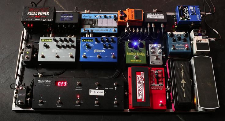 Pedal board | Pedals and Effects | Pinterest