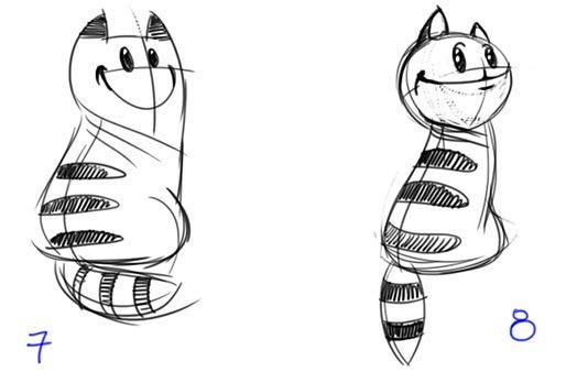 Characters Design - NetCat - Turbomilk