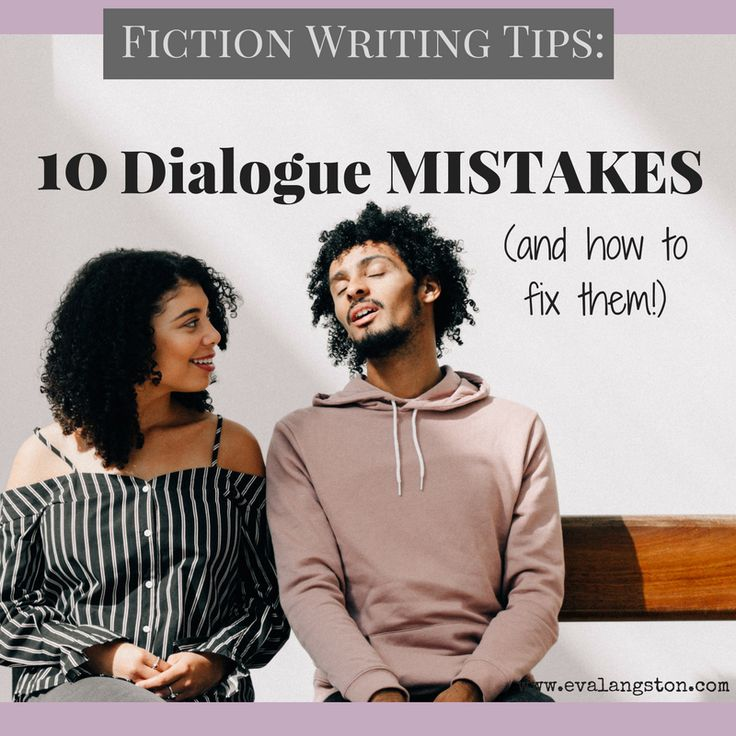 How can you write good dialogue in fiction? How can you make your dialogue sound realistic? Here are 10 common dialogue mistakes and how to fix them.