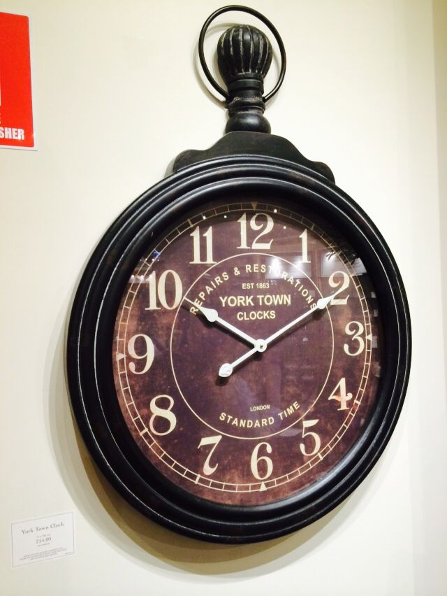 12 best Black Iron Wall Clock images on Pinterest | Wall ...