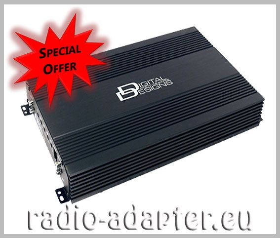 Digital Designs, DD, CM 1000 Class D Monoblock 1000 Watt - Car Hifi Radio Adapter.eu best for subwoofer more info https://www.pinterest.com/radioadaptereu/aftermarket-car-stereo/