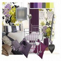 grey purple green rooms   Exclusive Decor Green Bedroom Student Interior