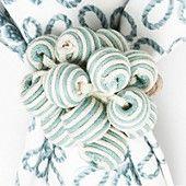 Juliska Stripe Bead Bouquet Napkin Ring