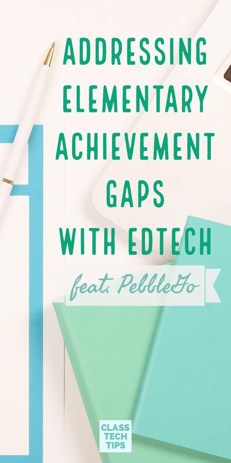 Addressing Elementary Achievement Gaps with EdTech