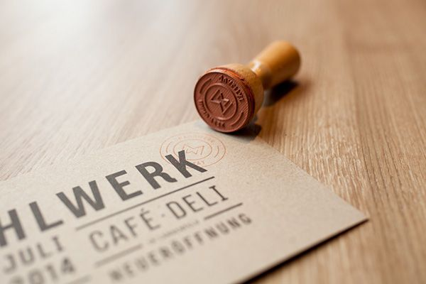 Mahlwerk | Café & Deli on Behance