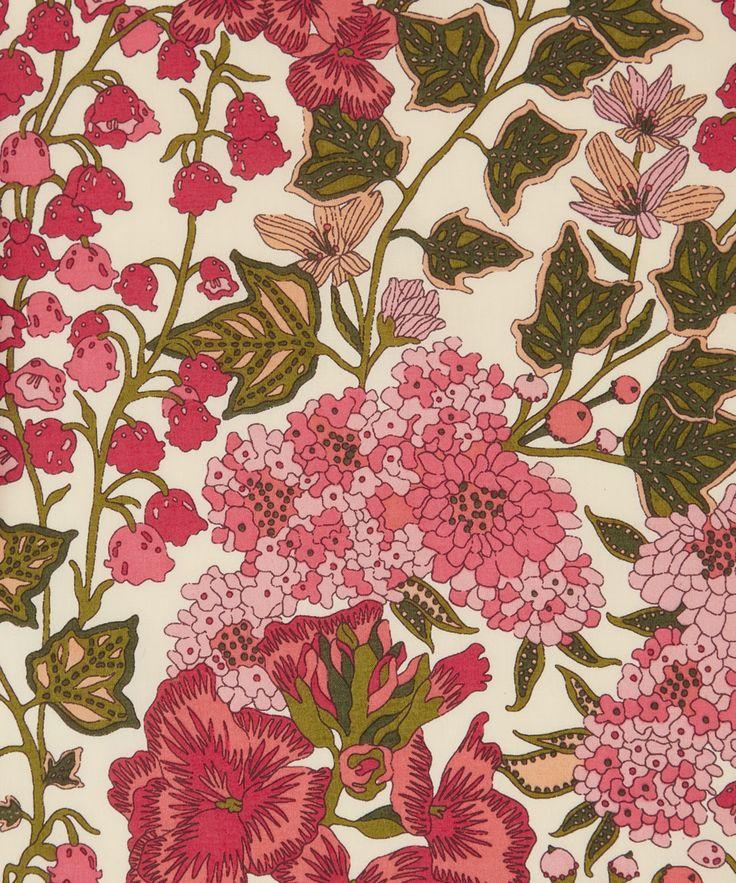 Liberty Art Fabrics Edna C Tana Lawn Cotton | Fabrics | Liberty.co.uk