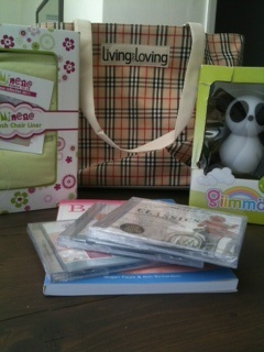 Living and Loving Mag supplying 3 amazing gift bags as prizes