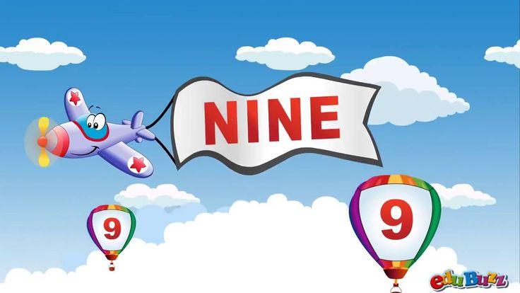 10 Little Numbers Song   Airplane Numbers song(inglisurad atamde datvlas...