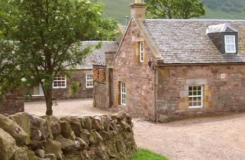 Eastside Farm Cottages, Scotland - one of my favorite places in the world