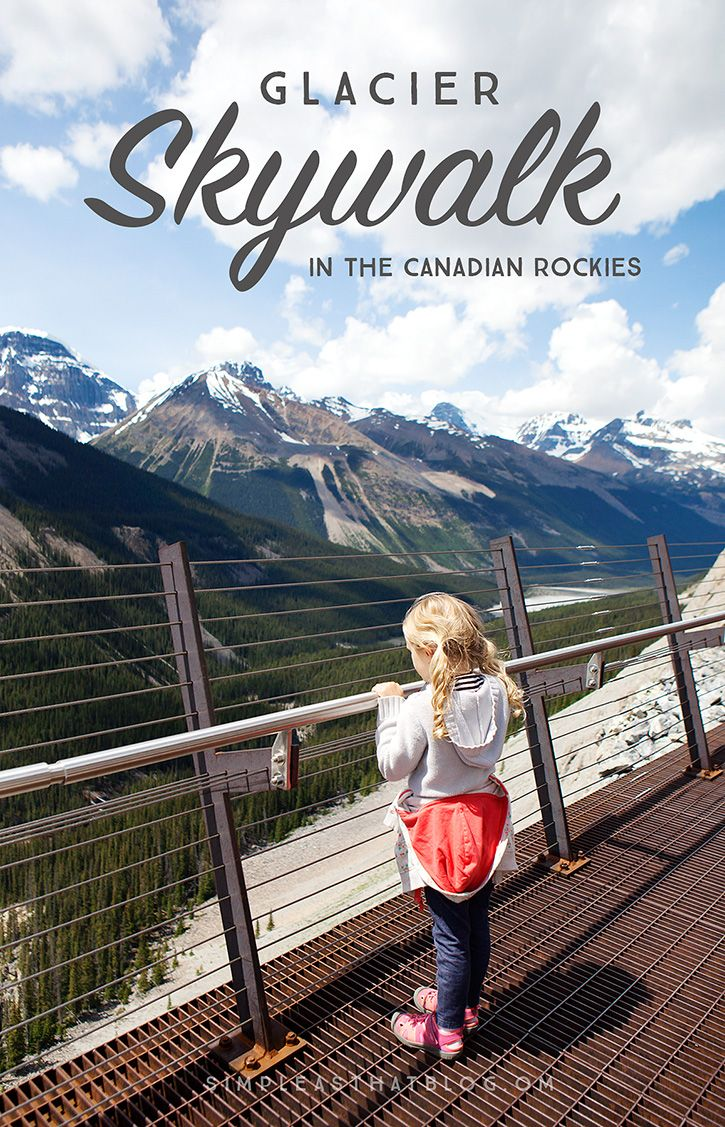 Glacier Skywalk - view the Columbia Icefields and surrounding Rocky Mountains from a unique perspective!