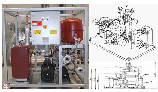 Электростанция MTU Friedrichshafen GmbH (Германия). Электрическая мощность 1169 кВт, напряжение 0,4 кВ, частота 50 Гц. Комплектация GR.