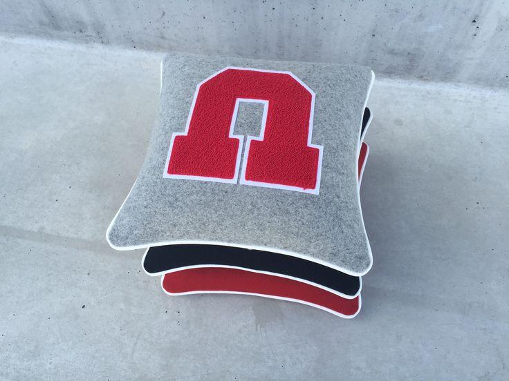 University of Utah Letterman Pillow Small Stack