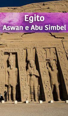 Contamos nossa experiência de 3 dias em Assuã (Aswan), no Egito. Nesse tempo visitamos a Nubian Village e também os templos gigantes de Abu Simbel, esculpido na pedra. Acesse o blog para o post completo!