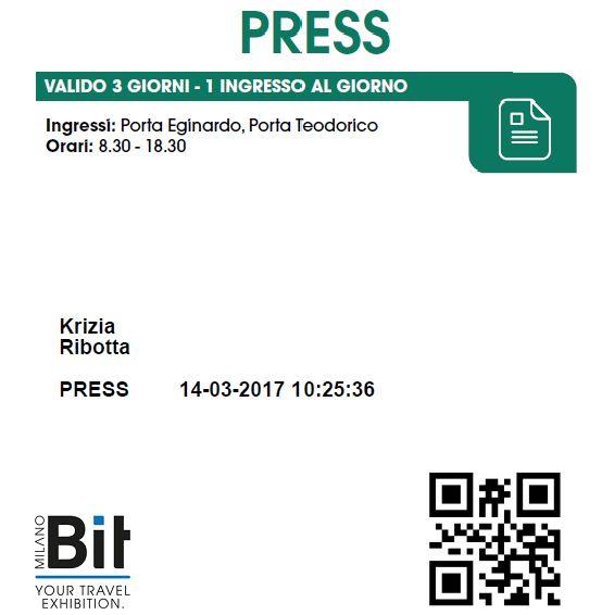 Pronti per la BIT - BORSA INTERNAZIONALE DEL TURISMO la fiera internazionale che raccoglie intorno a sé gli operatori turistici di tutto il mondo.   Dal 2 al 4 aprile  9.30-18 : http://ift.tt/2nxXrJx  #kriziaintravelland