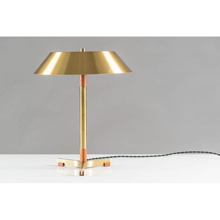 p Scandinavian mid century table lamp model  President  by Jo Hammerborg. 25  best ideas about Scandinavian Table Lamps on Pinterest