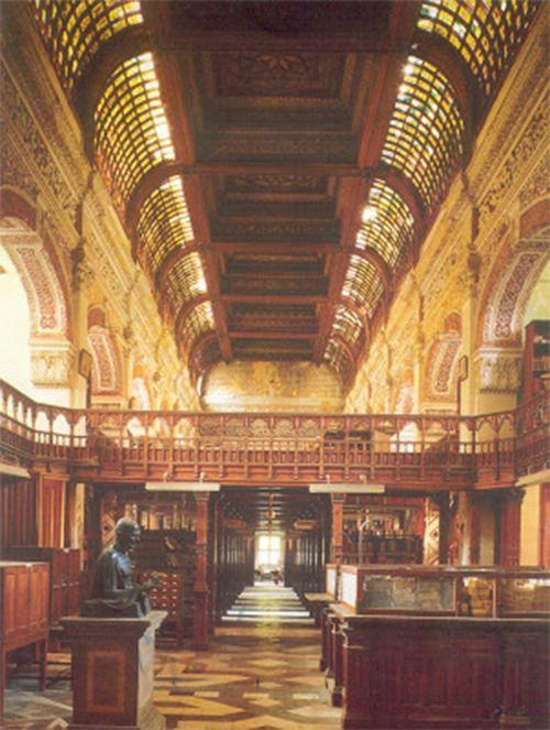 The Connemara Public Library in Chennai, India