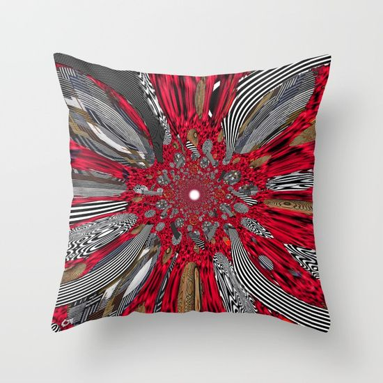 Throw Pillow made from 100% spun polyester poplin fabric, a stylish statement that will liven up any room. Individually cut and sewn by hand, each pillow features a double-sided print and is finished with a concealed zipper for ease of care.  Sold with or without faux down pillow insert.Sold!!!