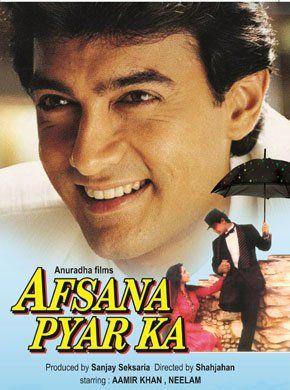 Afsana Pyar Ka Hindi Movie Online - Aamir Khan, Neelam, Deepak Tijori, Rakesh Bedi, Raju Shrestha, Amita Nangia and Viju Khote. Directed by M.R. Shahjahan. Music by Bappi Lahiri. 1991 [U] ENGLISH SUBTITLE