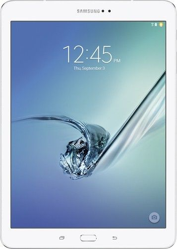 """Samsung - Galaxy Tab S2 - 9.7"""" - 32GB - White - Larger Front"""