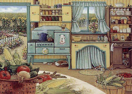 Canning Day...Janet Kruskamp