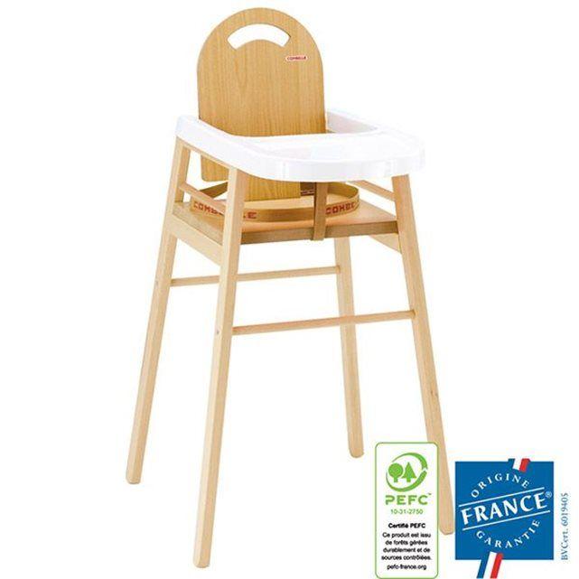 17 meilleures id es propos de chaise haute b b bois sur for Chaise haute combelle bois